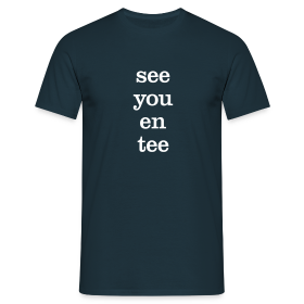 see you en tee - Men's T-Shirt - Men's T-Shirt