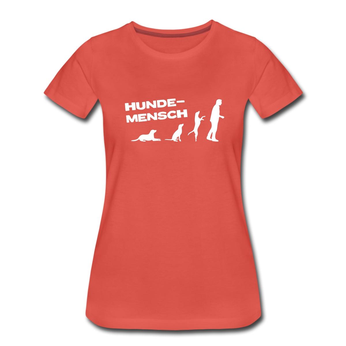Martin-Ruetter-Hundemensch-Frauen-Premium-T-Shirt-von-Spreadshirt