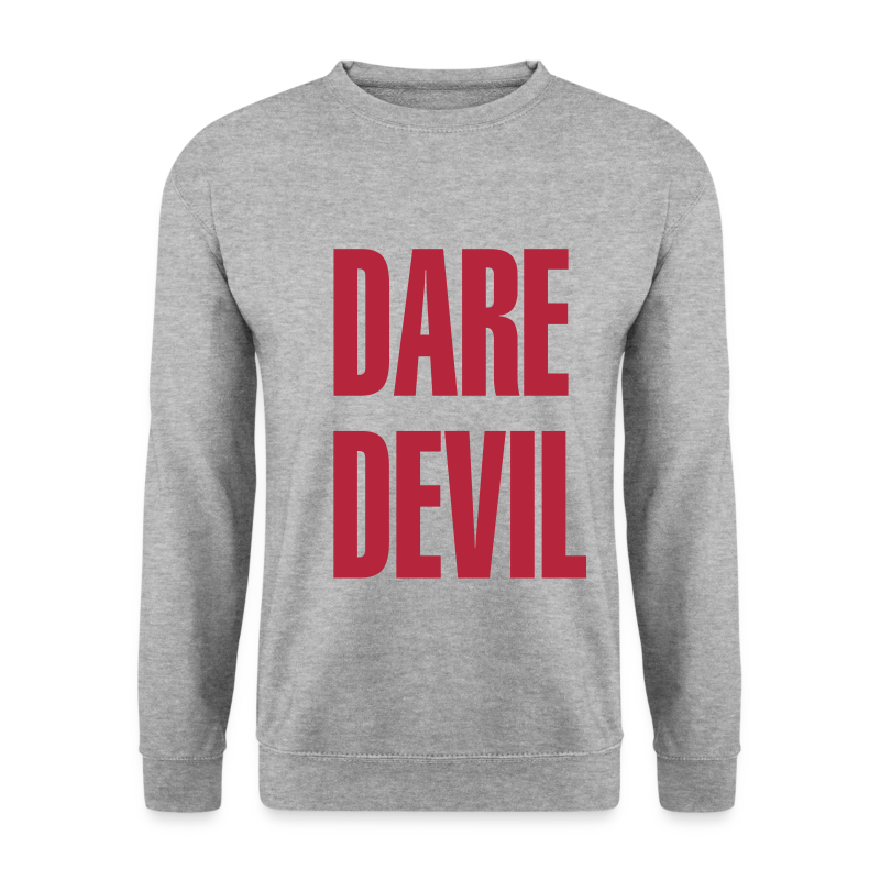 Dare Devil Oversized  - Men's Sweatshirt