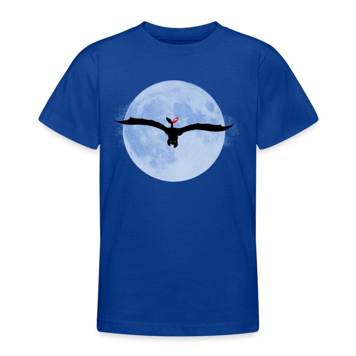 DreamWorks-Dragons-Drachenzaehmen-Ohnezahn-Vollmond-Teenager-T-Shirt-von