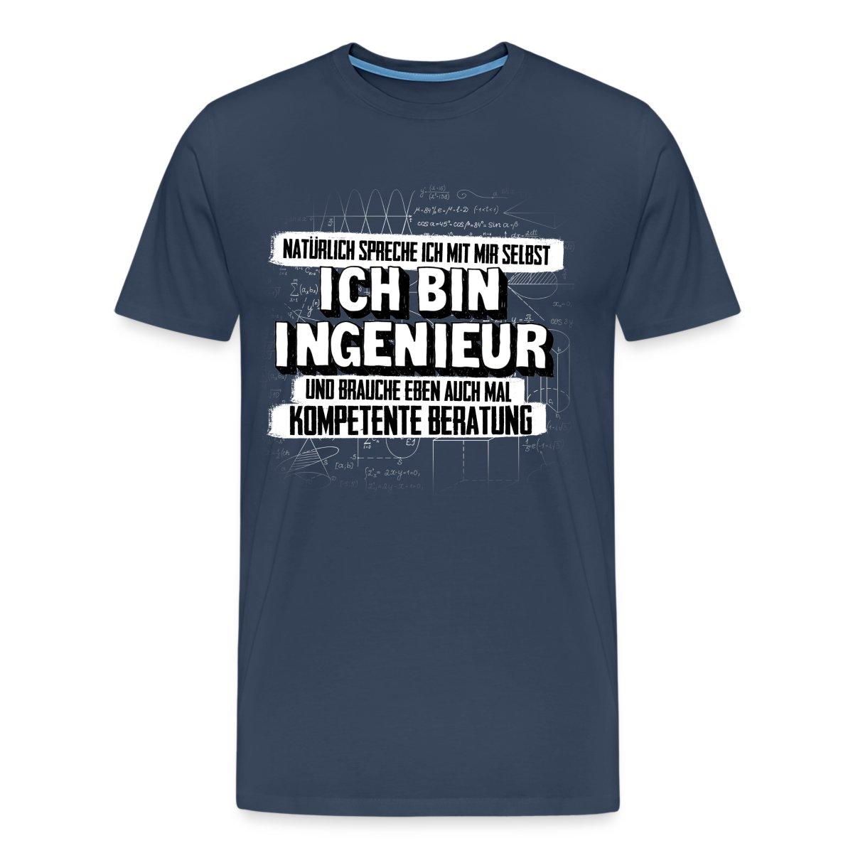 Ingenieur kompetente beratung spruch herren t shirt von for Kompetente beratung