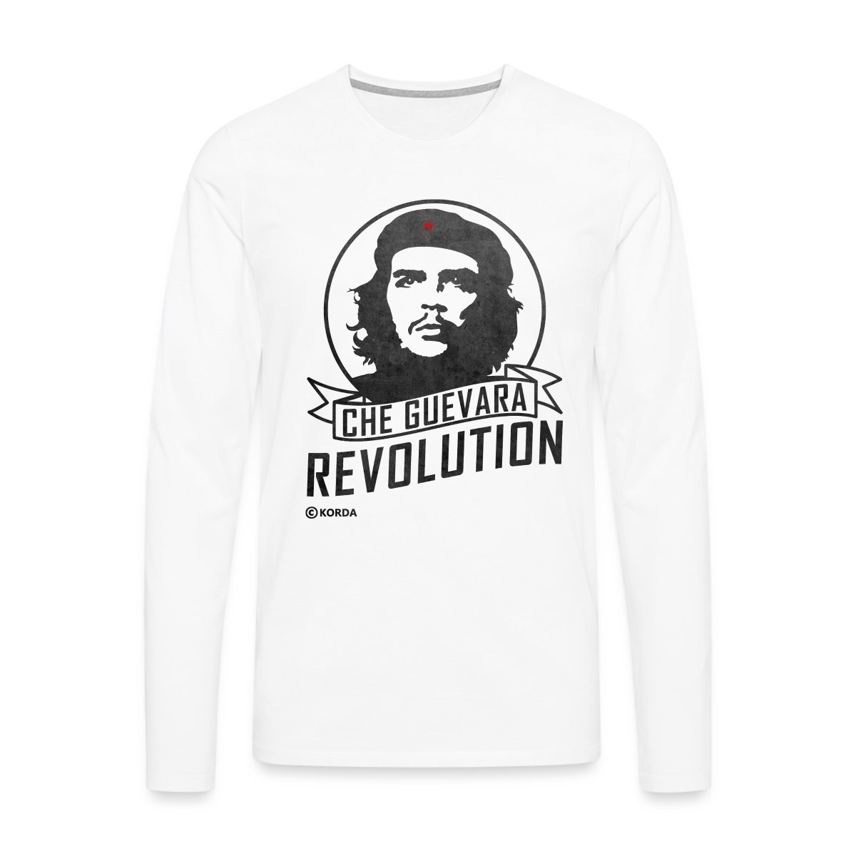 Che-Guevara-Revolution-Maenner-Premium-Langarmshirt-von-Spreadshirt