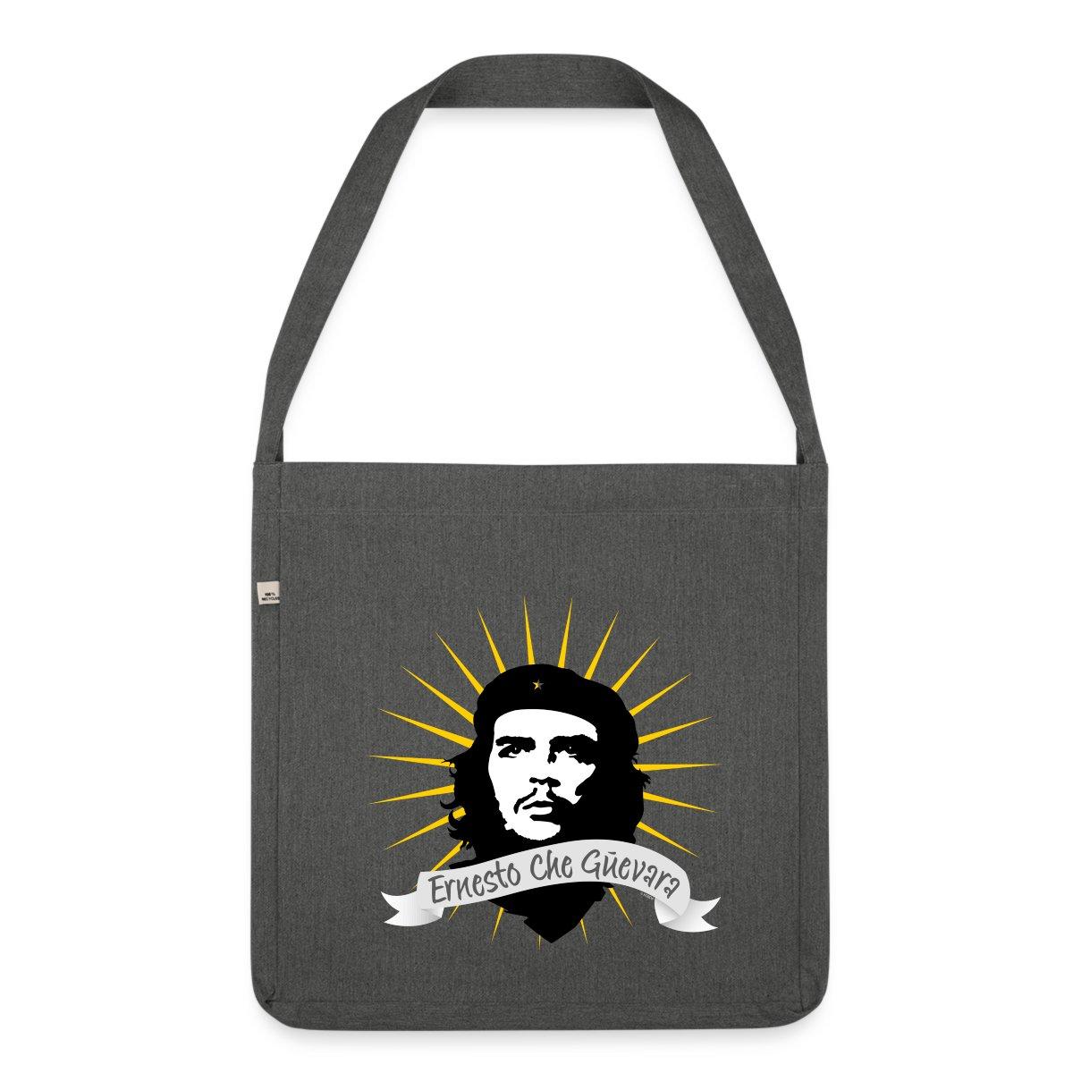Che-Guevara-Strahlen-Mythos-Ikone-Schultertasche-aus-Recycling-Material-von