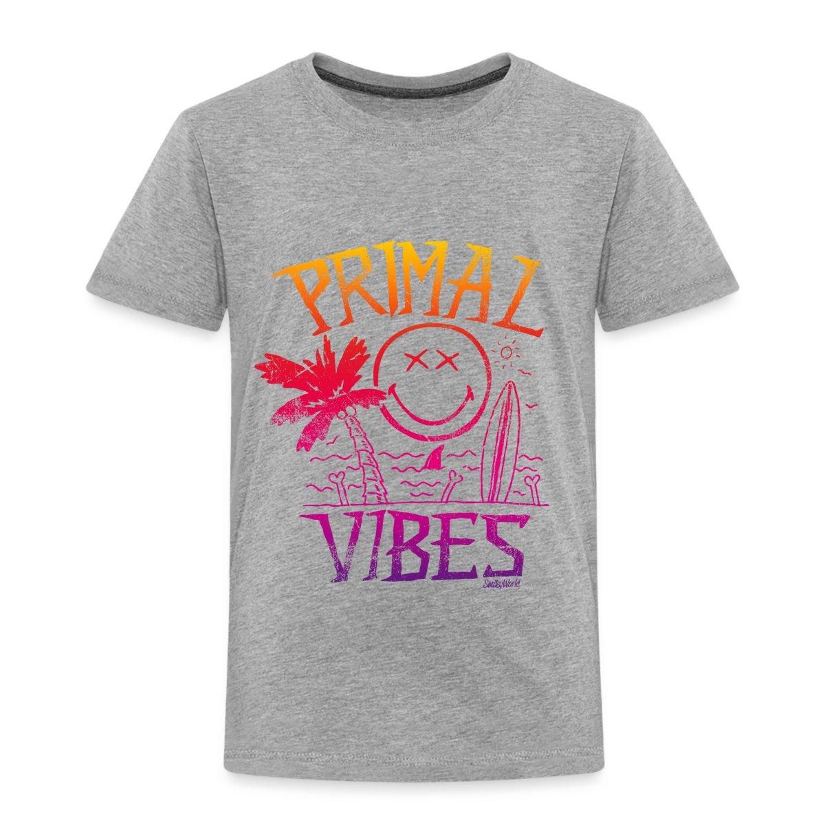 Smiley-World-Primal-Vibes-Kinder-Premium-T-Shirt-von-Spreadshirt