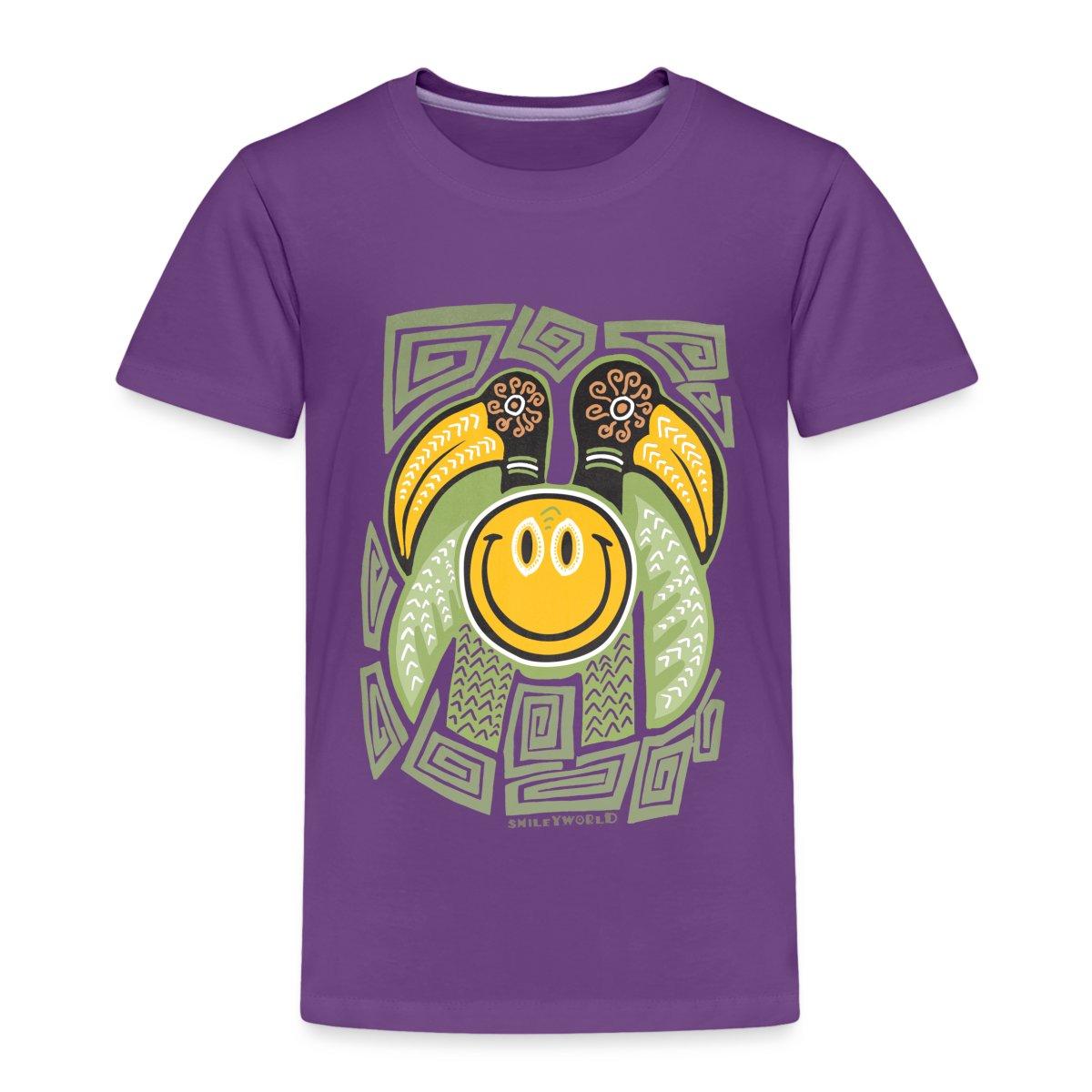 Smiley-World-Tiki-Bird-Kinder-Premium-T-Shirt-von-Spreadshirt
