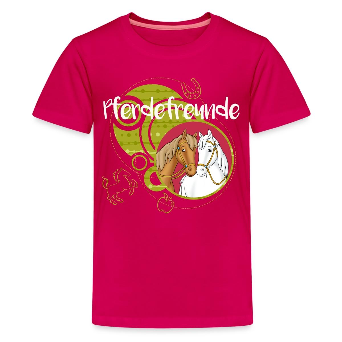 Bibi-Und-Tina-Pferdefreunde-Amadeus-Sabrina-Teenager-Premium-T-Shirt-von