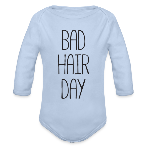 Bad Hair Day - Baby Langarm Body