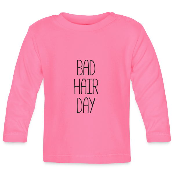 Bad Hair Day - Baby Langarm T-Shirt