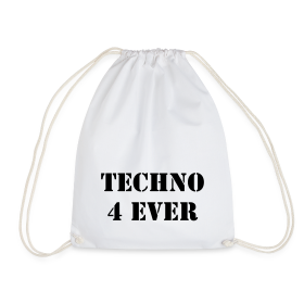 Techno 4 Ever Turnbeutel