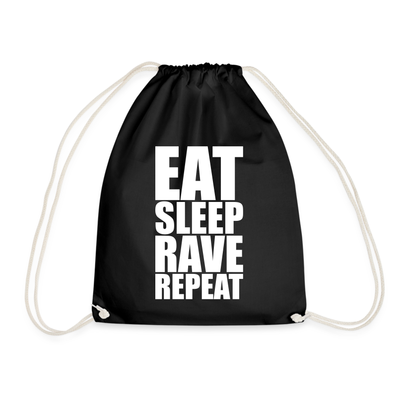 Eat sleep Rave repeat 3.0 | Techno Rave Turnbeutel