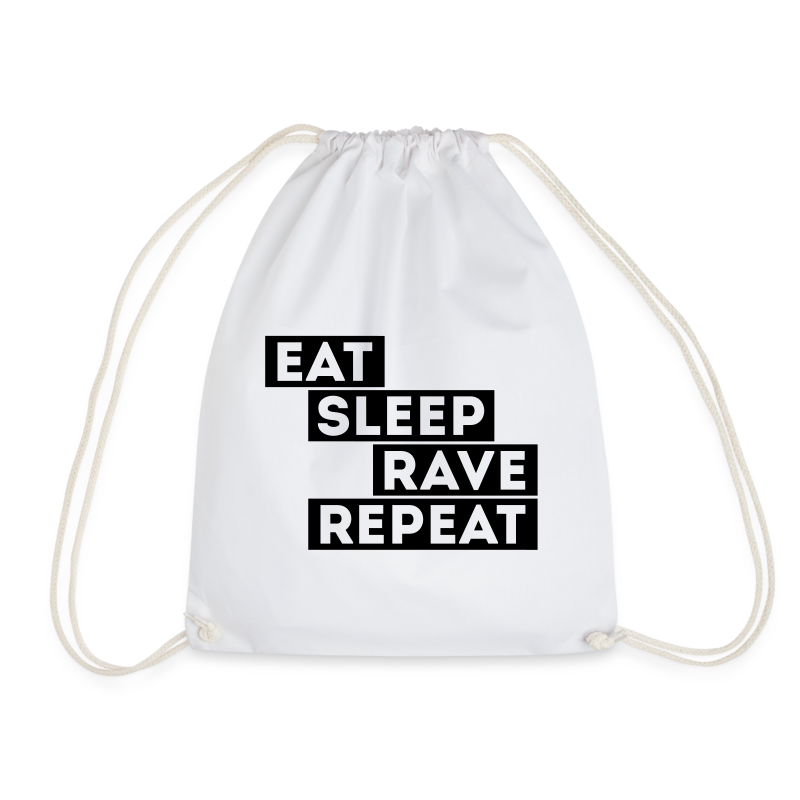 Eat sleep Rave repeat 4.0 | Techno Rave Turnbeutel