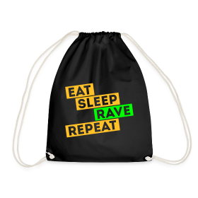 Eat sleep Rave repeat 5.0 | Techno Rave Turnbeutel