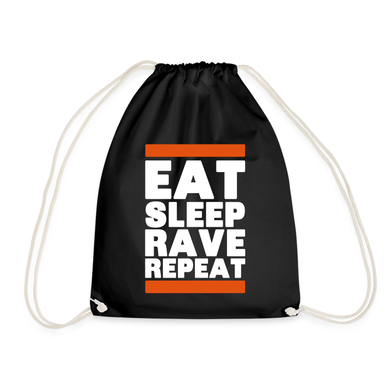 Eat sleep Rave repeat 6.0 | Techno Rave Turnbeutel