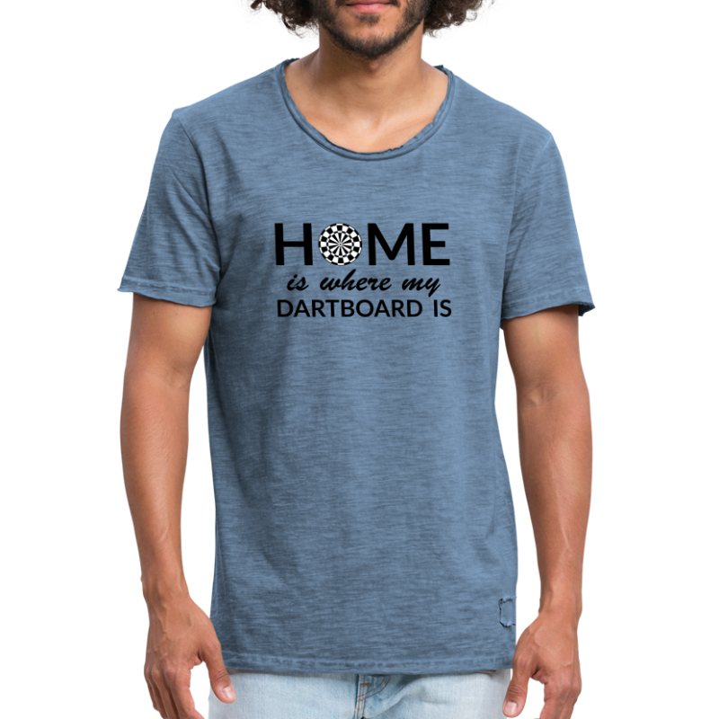 Home is ... - Männer Vintage T-Shirt