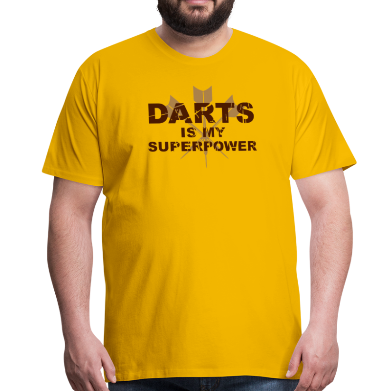 Darts is my Superpower!  - Männer Premium T-Shirt
