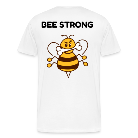 BEE STRONG - Männer Premium T-Shirt