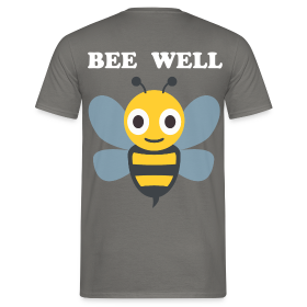 BEE WELL - Männer T-Shirt