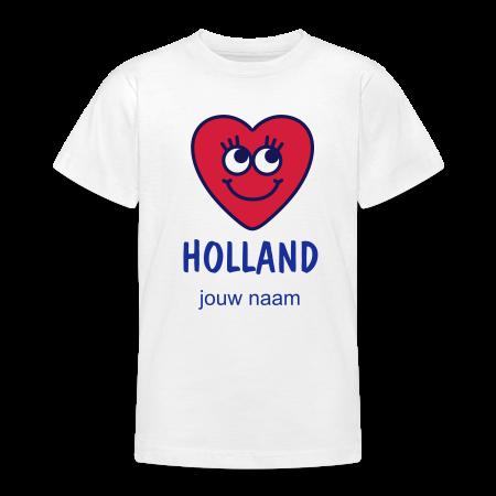 oranje t-shirt ik hou van holland goudoranje