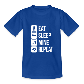Eat, Sleep, Mine, Repeat - Enfant