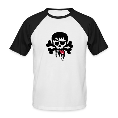 totenkopf bad skull t shirt spreadshirt id 11072956. Black Bedroom Furniture Sets. Home Design Ideas