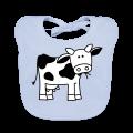 slabbetje met koe