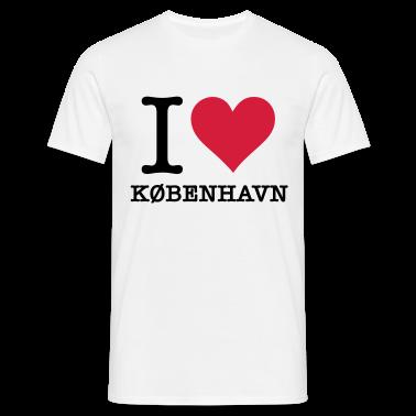 Blanc I Love Kobenhavn (2c, NEU) T-shirts