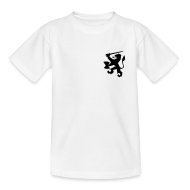 oranje kinder t-shirt leeuw met achterop je naam