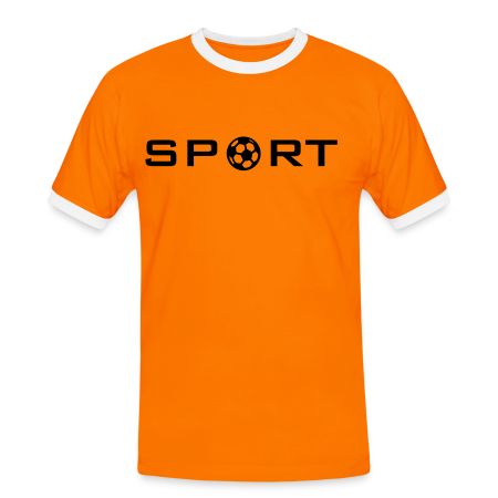 SPORT naranja/blanco