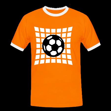 GOAL naranja/blanco