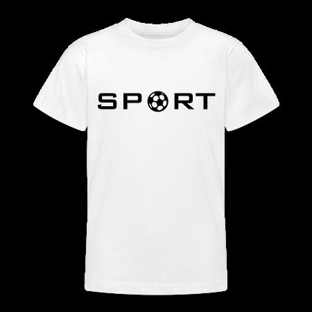 voetbal shirt voor kinderen goudoranje