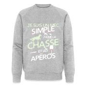 Chasseur - un mec simple Sweat-shirts