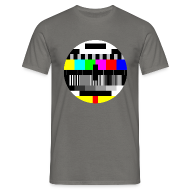 T-shirts ~ Mannen standaard T-shirt ~ Test Pattern (Sheldon)