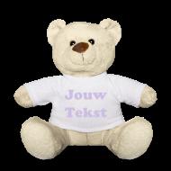 teddybeer met je tekst laten bedrukken