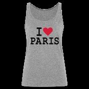 Débardeur I Love Paris Femme