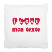 Cadeau Saint-Valentin Taie d'oreiller