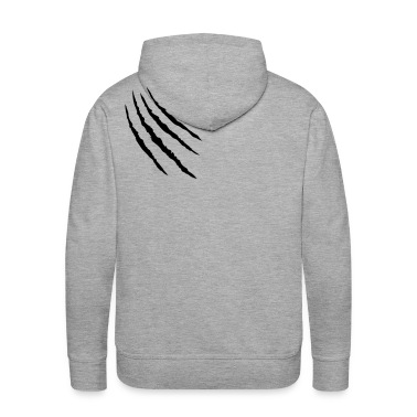 Heather grey kratzer tatze klaue claws pfote Hoodies & Sweatshirts