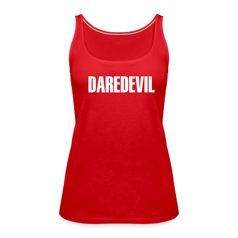 Daredevil White - Women's Premium Tank Top