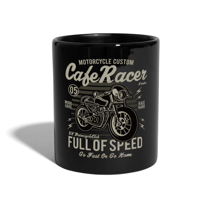 Cafe Racer - Mug - Full Colour Mug