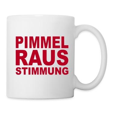 Weiß Pimmel raus Stimmung - eushirt.com Tassen