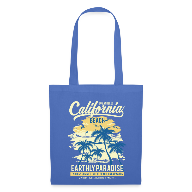 Blue Tote Bag - California - Tote Bag