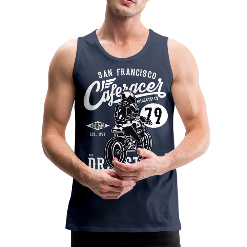 Cafe Racer v2 - Mens Tank Top - Men's Premium Tank Top