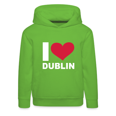 Grün I LOVE Dublin ( Ireland ) - eushirt.com Kinder Pullover
