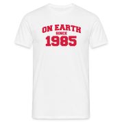 White onearth1985 Men's T-Shirts