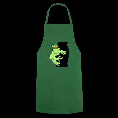 Verde Il re delle rane / frog prince (3c) Grembiuli