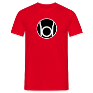 T-Shirts ~ Men's Standard T-Shirt ~ Red Lantern (Sheldon)