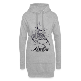 Hoodie Kleid - Adventure is out there