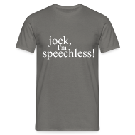 T-Shirts ~ Men's Standard T-Shirt ~ SPEECHLESS