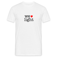 T-Shirts ~ Men's Standard T-Shirt ~ we love light