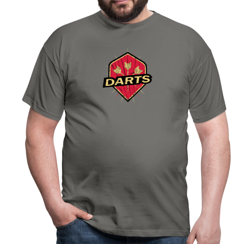 Darts Flyer - Männer T-Shirt