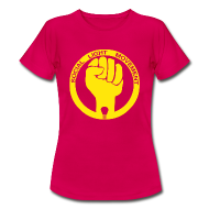T-Shirts ~ Women's Standard T-Shirt ~ SOCIAL LIGHT MOVEMENT YELLOW (womens classic)